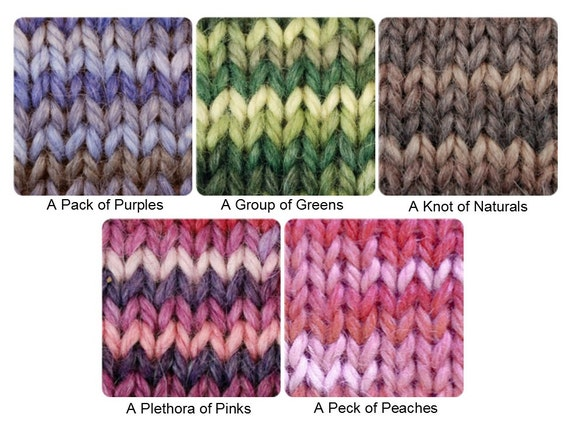 Snuggle Hand-Dyed Color Samples
