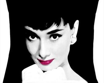 Audrey Hepburn picture cushion /pillow
