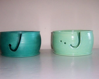 Extra Large Yarn Bowl - With or without needle holes