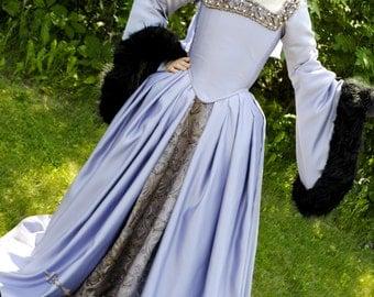 Reserved Anne Boleyn The Tudors dress gown Renaissance costume REPRODUCTION CUSTOM