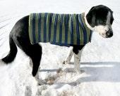 Easy Adjustable Dog Sweater Coat - PDF Crochet Pattern - Instant Download