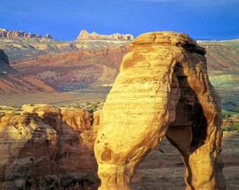 Delicate Arch Photo Arches National Park Photograph Canyonlands Moab Desert Landscape Southwestern nat18