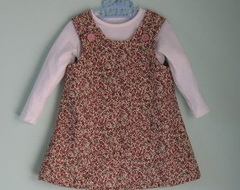 Cute babycord jumper to suit an 18 month to 2 year old toddler