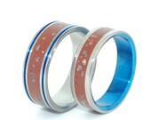 wedding rings, titanium rings, concrete rings, mens rings, Titanium Wedding Bands, Eco-Friendly Rings, Wedding Rings - SEA AND STORM