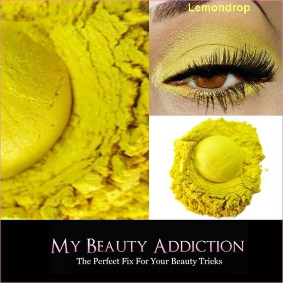 Mineral Eye Shadow-Lemon Drop