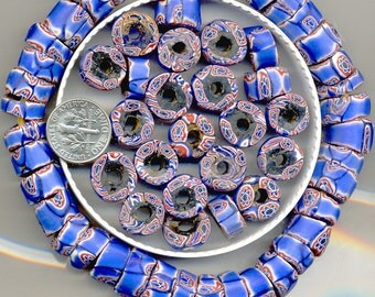 Antique African Trade Bead Venetian Murano Beads, 8 Designs,TBM1.2.5.11.36.38.39.TBM47