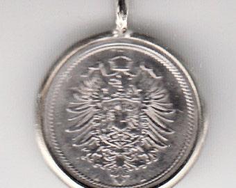 Germany Coin Pendant (E-807)