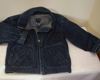 Vintage Childs GAP Denim Jacket - 1980s Size 4