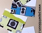 Vintage Vibrant Cameras Cards