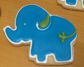 Baby Elephant Cookies - 12 cookies