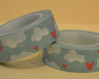 Hearts & Clouds Washi (SC15-150)