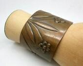 Vintage Copper Rebajes Cuff Bracelet