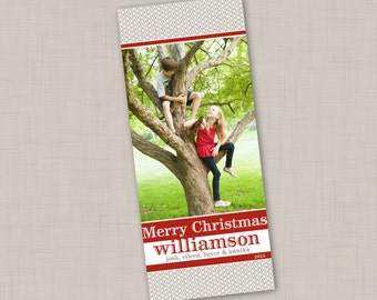 Holiday Classic Neutral Photo Card