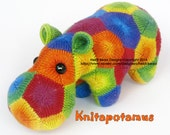 Knitapotamus the Knitted Hippo Pattern