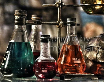 5x7 Weird Science Potions Photo
