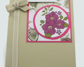 Handmade Card Using Stampin up products