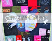 Custom Memory Quilt for Jennifer (deposit)
