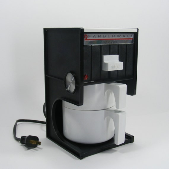Drip Coffee Maker Hot Water : Farberware Two Cupper drip coffee maker hot water by TheFrontHouse