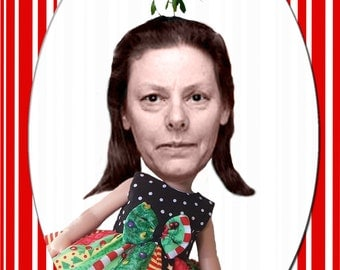 Aileen Wuornos Christmas Card, new for 2010
