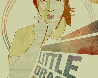 Little Dragon Poster - Limited Edition - Signed by Artist