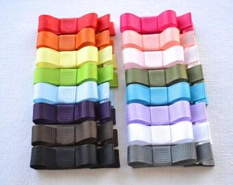 Toddler Hair Clips Girls Hair clips Girls hair bows starter set