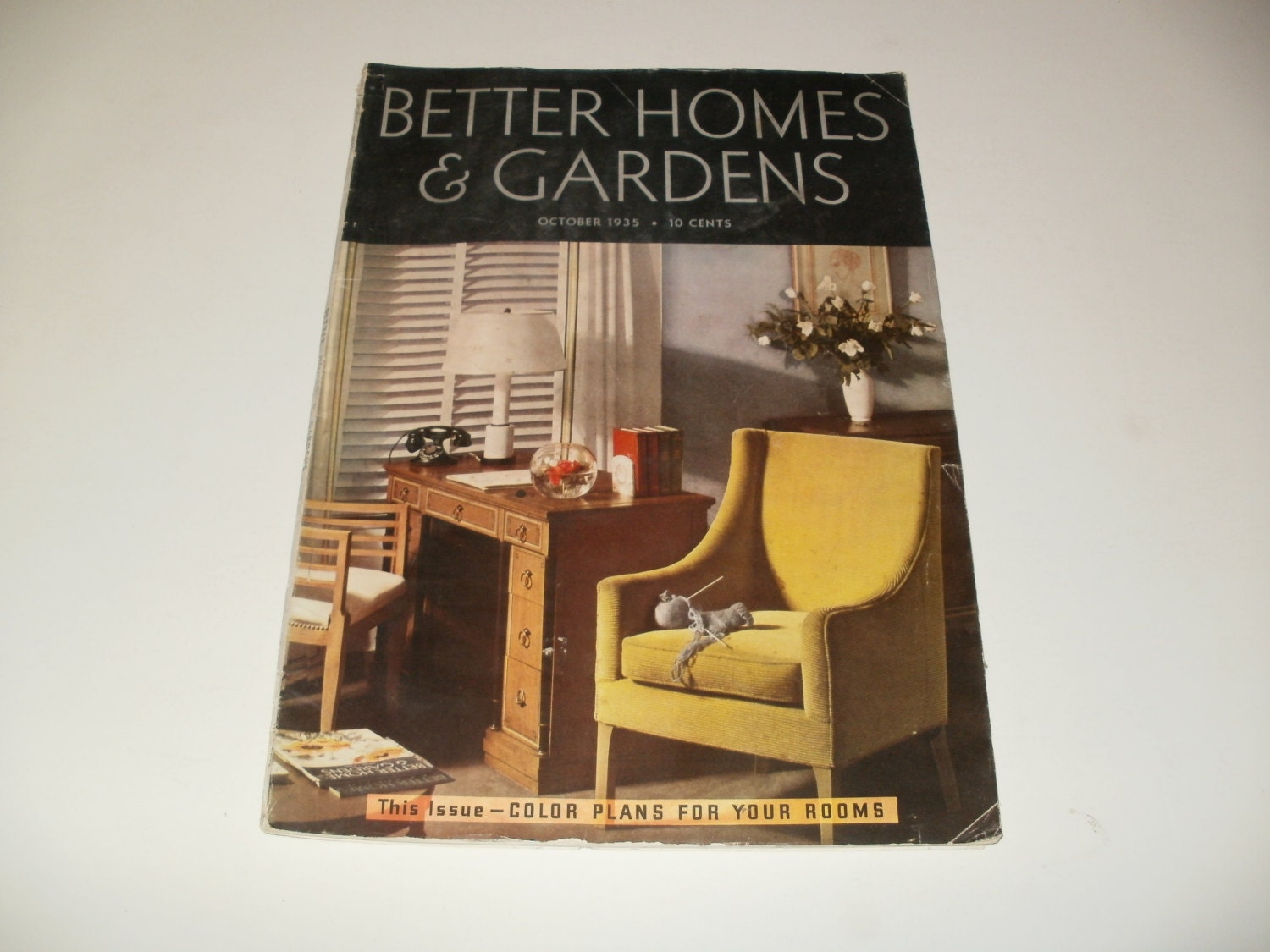Vintage Better Homes And Gardens Magazine October By