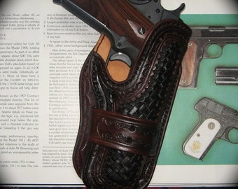 Custom Made to Order holster for 1911 pistol