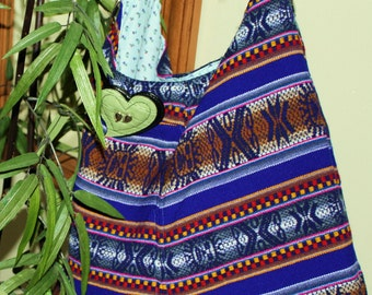 Hand Crafted  Beauitful Hobo Hippie-Back to School Sale.