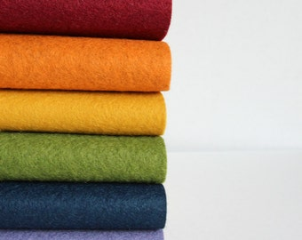 Quilters Bouquet - Wool Blend Felt Sheets - 6 sheets
