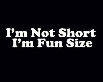 I'm not short | Etsy