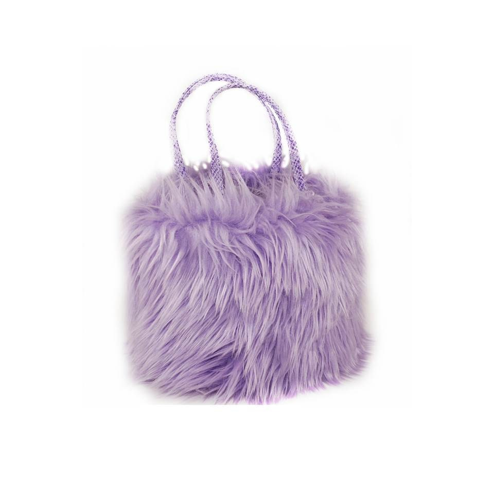 Purple Madness Purse in my Faux Fur Frenzy Shop