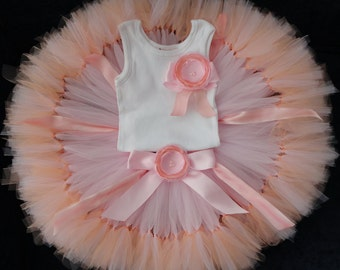 Birthday Outfit | Pink Birthday Dress for Baby Girls | Pink Birthday Tutu