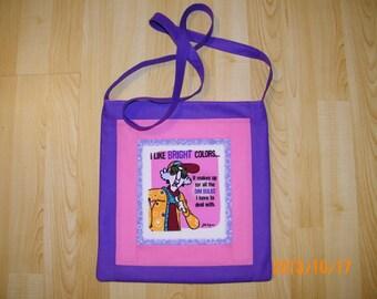 Maxine Crossbody Tote Bag