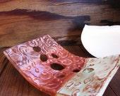 Classic  Soap Dish, unique stoneware art