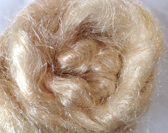Firestar Fiber Hand Dyed Light Coffee Stained .5 oz