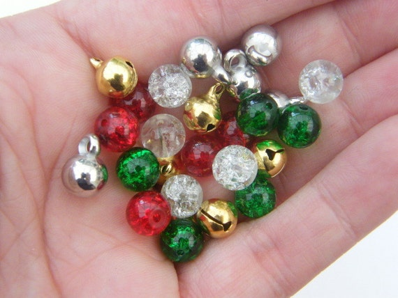 The Christmas Bead Collection - 25 pieces