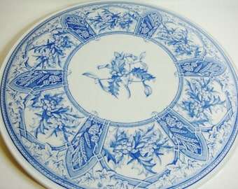 Spode Prince Albert Cake Plate from Blue room Collection