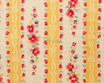 Ribbon stripe - Yellow by Atsuko Matsuyama - Printed in Japan