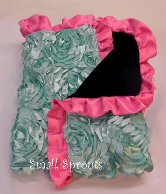 Custom Boutique Baby Travel Blanket Cover-Choose your fabric