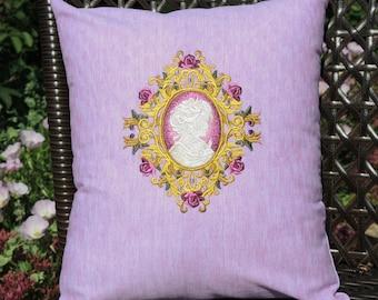 Cameo Decorative Pillow,  Home & Living, Home Decor, Jewelry