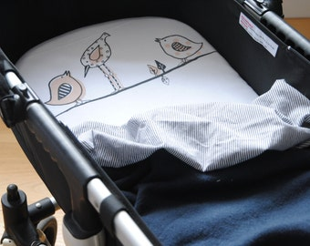 Bugaboo Bassinet Or Moses Basket Organic Cotton Fitted