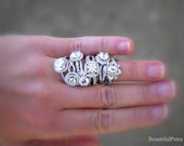 Beautiful Petra Rings - Let us CUSTOM MAKE your Diamond Engagment Ring - Purchase this link to get started
