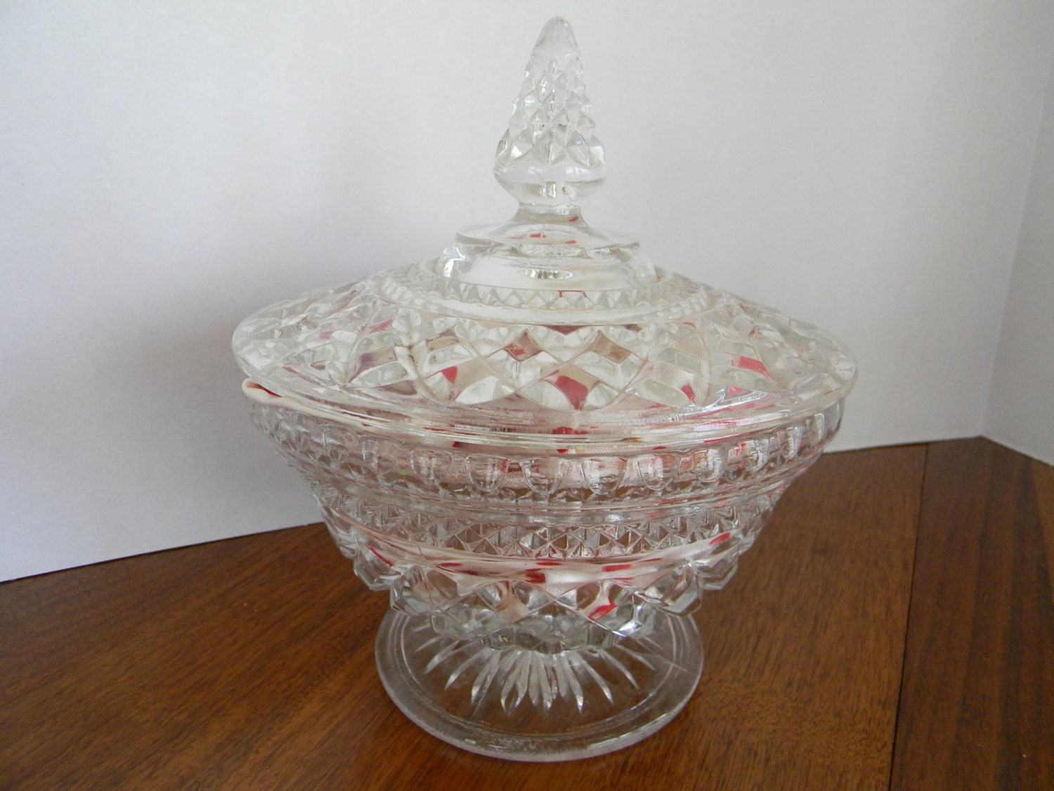 Clearance sale candy dish holiday decor by pickerchicks on for Cheap christmas decorations sale