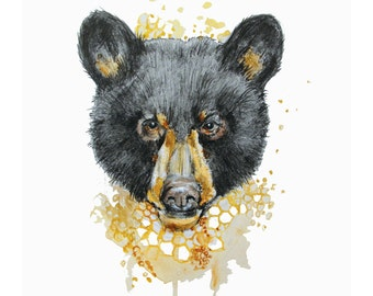 Supporter de Miel- Limited edition bear print