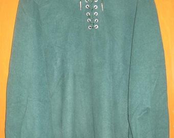 Green Plush Reniassance Shirt