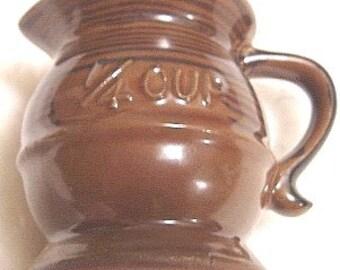 Vintage 1/4 Cup Measuring Cup