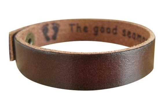 leather bracelets for men engraved wwwimgkidcom the