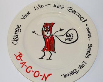 Sassy Bacon Plate