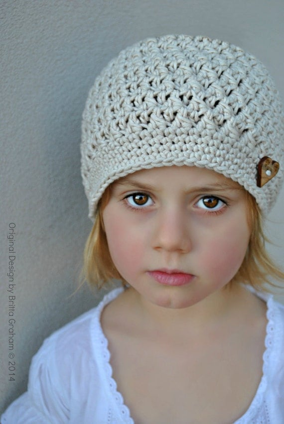 Crochet Hat Pattern Chunky Textured Beanie Crochet Pattern