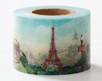 washi tape Paris 25mm x  7M